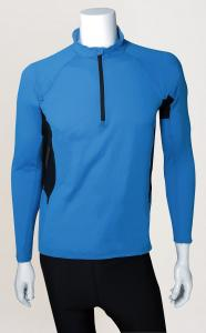 Men's Long-sleeves Front-Zip Polypropylene Outdoor Top